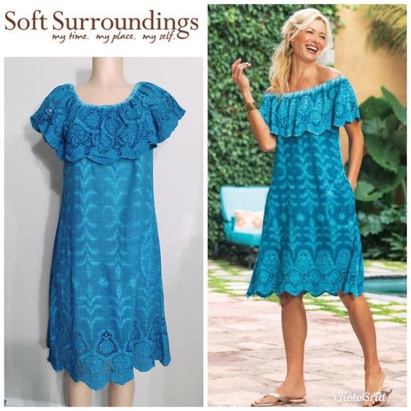 41399ce3ee7a Soft Surroundings Dresses | Xl Senorita Dress Nwot | Poshmark